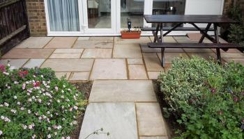 patio, garden, landscper